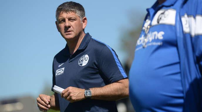 Markus Eichhorn ist nur noch bis Saisonende Trainer beim FV Unterharmersbach.