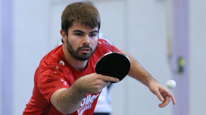 Andreas Bußhardt hat seine Einzel gewonnen.
