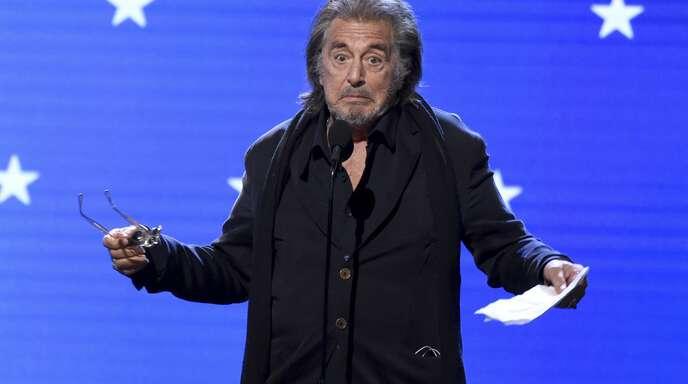 """Al Pacino ist für seine Nebenrolle in """"The Irishman"""" für den Oscar nominiert – nicht die einzige Chance für Netflix, sich mit Preisen zu schmücken."""