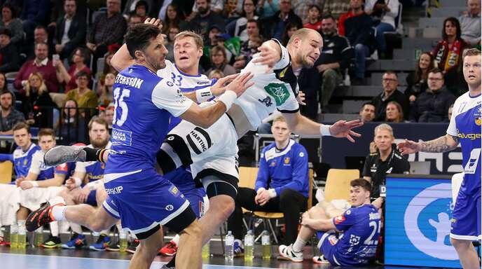 Paul Drux und die deutsche Nationalmannschaft haben gegen Island gewonnen.