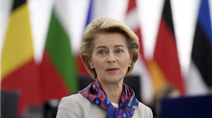 EU-Komissionspräsidentin Ursula von der Leyen hat große Klimaziele.