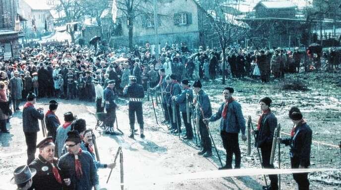 Aus früheren Zeiten: Szene vom Johrmärkt in Montenegro in den Gründungsjahren.