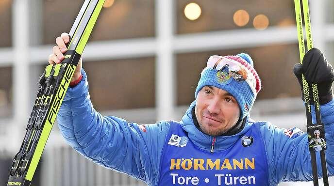Alexander Loginow holte bislang zwei WM-Medaillen in Antholz – er wird in der Szene mit großer Skepsis bis hin zur Ablehnung betrachtet.