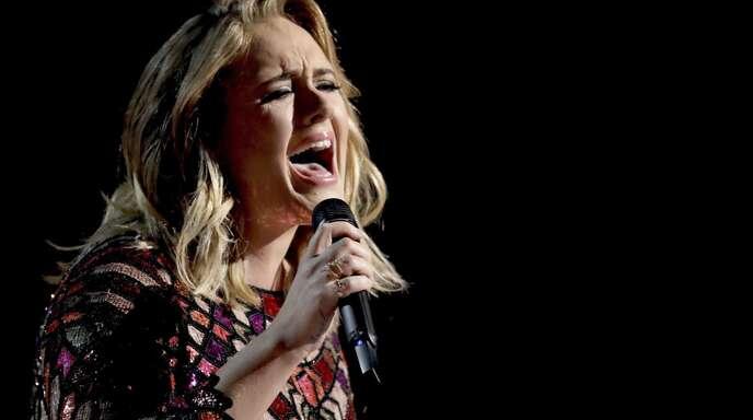 So sieht die britische Sängerin Adele nicht mehr aus.