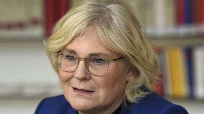 Die Justizministerin Christine Lambrecht will Hass im Internet nicht dulden.