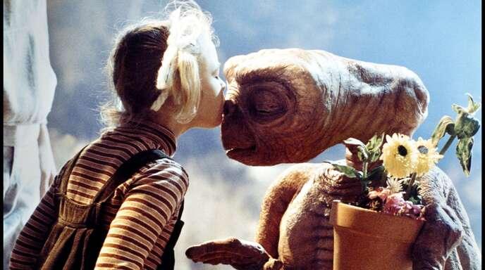 """Vielleicht eines der berühmtesten Filmkinder der Geschichte: Drew Barrymore in """"E.T. – Der Außerirdische""""."""