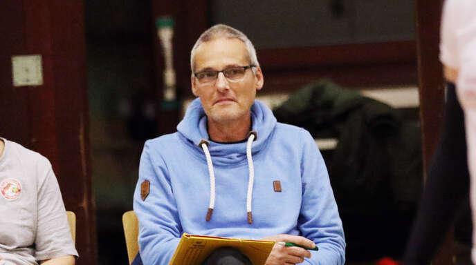 Trainer aus Leidenschaft: Michael Gabler, hier neben der langjährigen VCO-Trainerin Tanja Scheuer..