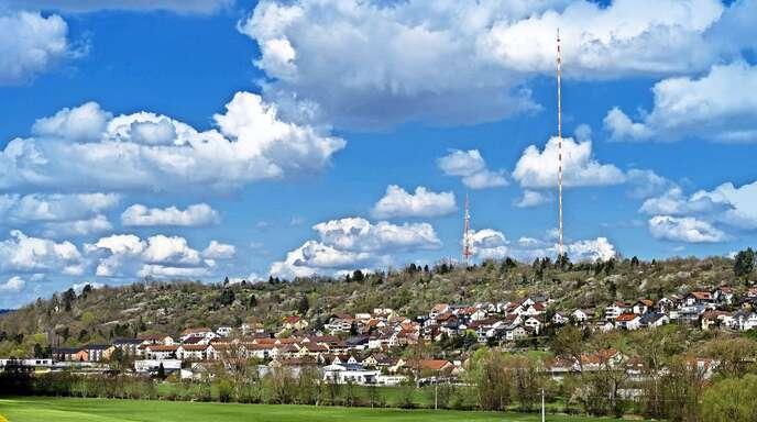 Der Sender Mühlacker dominiert die Stadt – und ist deshalb für viele Menschen unverzichtbar.