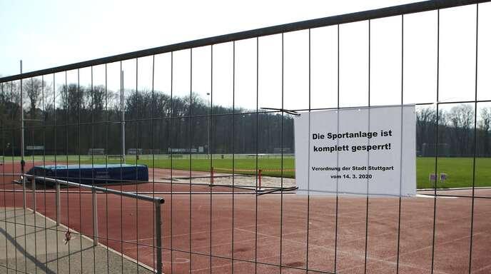 Der Breitensport steht vor verschlossen Türen und Toren: Die Vereine haben Kosten, aber keine Einnahmen.