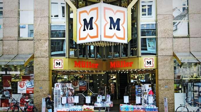Müllers größte Heimatfiliale in der Ulmer Hirschstraße