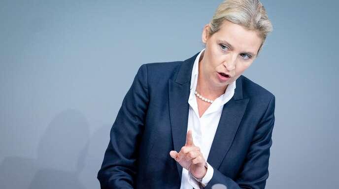 Alice Weidel ist seit Februar 2020 Landesvorsitzende der baden-württembergischen AfD – und bereits seit September 2017 Fraktionsvorsitzende im Bundestag