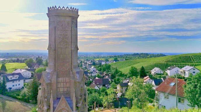 """So sieht es derzeit am """"Sena-Torre"""" in den Fessenbacher Reben aus."""
