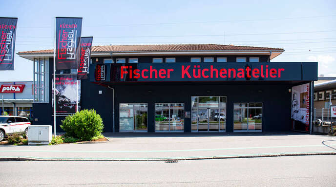 Auf mehr als 1100 Quadratmetern präsentiert sich der Küchenspezialist Fischer Küchenatelier in Offenburg.