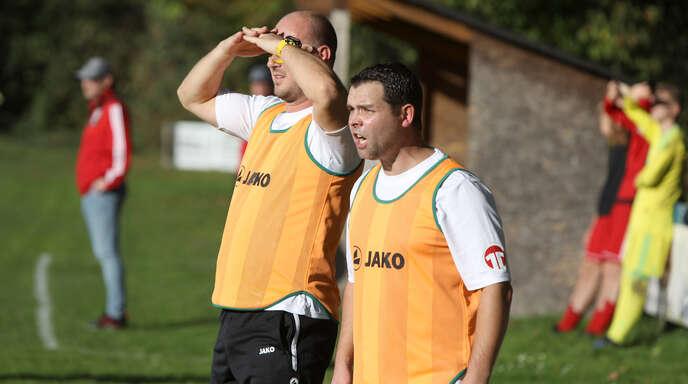 Jürgen Wippich und Sergej Herter (r.) sind als Trainerduo des SC Offenburg bereits seit Oktober 2019 im Amt.