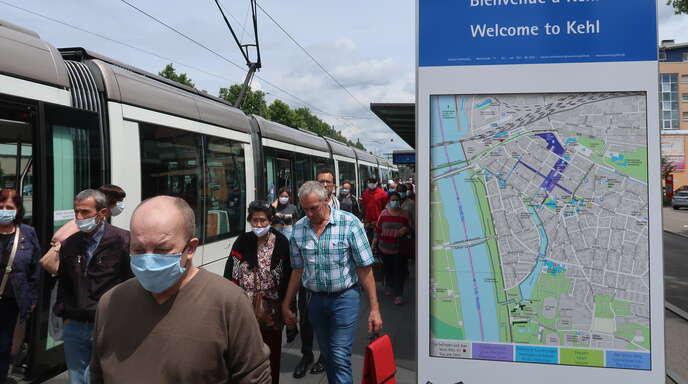 Grenzöffnung Deutschland Frankreich