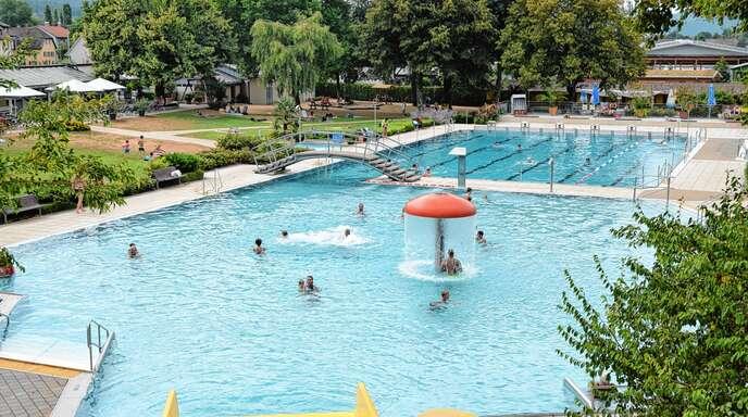 Schwimmbad Zell Ah