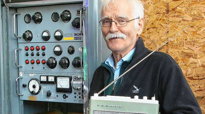 """In den Aufbau des Technikmuseums """"Temopolis"""" hat Hans-Peter Schemitz viel Energie investiert. Nun wünscht er sich einen Standort in Offenburg."""