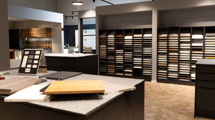 Griffe, Fronten, Einzüge: Alles kann im Offenburger Küchenstudio ausprobiert werden.