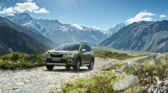 Die fünfte Generation des Subaru Forester zeigt auf jedem Terrain seine Stärken.