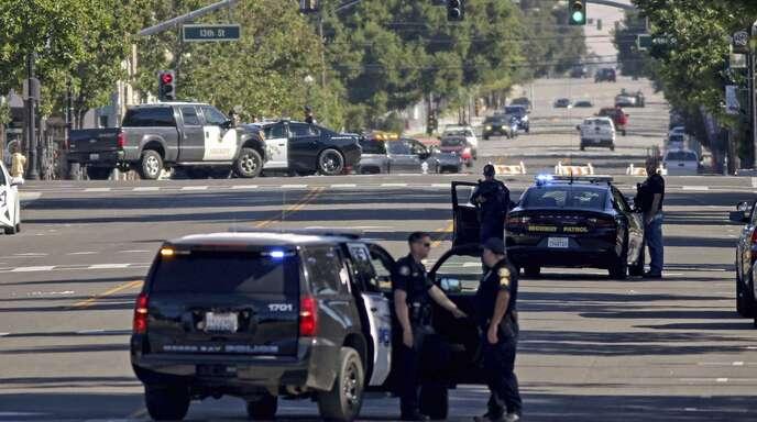 Der Mann wurde bei einem Schusswechsel mit der Polizei getötet.