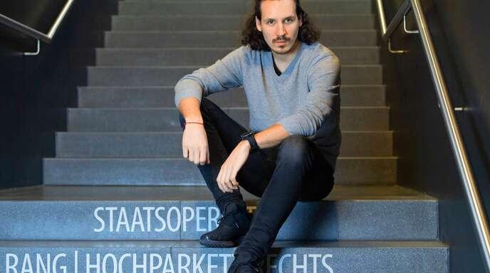 Valentin Schwarz nutzt den Leerlauf produktiv.