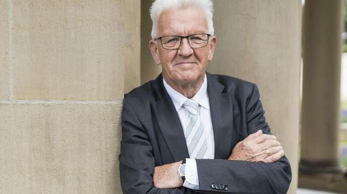 "Ministerpräsident Winfried Kretschmann sieht die Cranko-Schule als ""Juwel"""