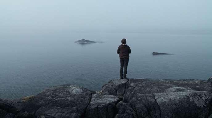"""Die Wal-Forscherin Janie Wray an der kanadischen Pazifikküste in """"The Whale and the Raven"""""""