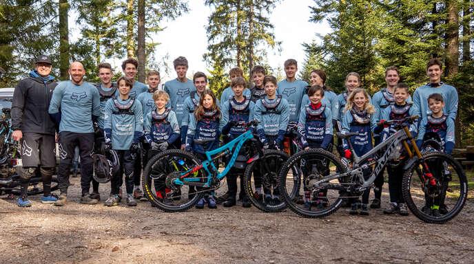 Die Fahrer des BSS Devo Team von Bikesport Sasbachwalden sind froh, wieder Rennen fahren zu dürfen.