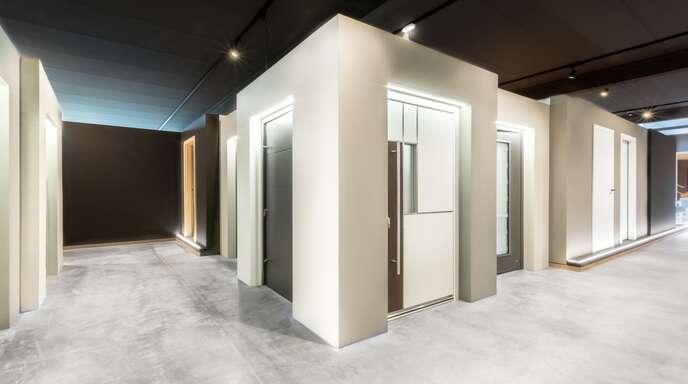 Bei marx Holz Design können die Kunden aus mehr als 100 Innentüren wählen.