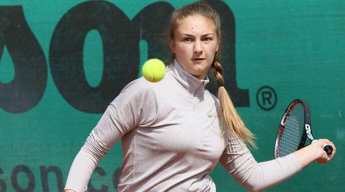Santina Wischeropp war an zwei der vier TSG-Punkte in Rheinfelden beteiligt.