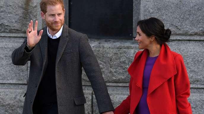 """Prinz Harry und Herzogin Meghan suchen nach dem """"Megxit"""" noch nach ihrer Rolle."""