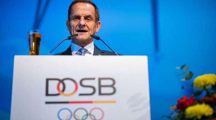 Alfons Hörmann, Präsident des Deutschen Olympischen Sportbund, sieht in dem Hilfspaket eine Unterstützung, um die Vereinslandschaft in Deutschland zu erhalten.