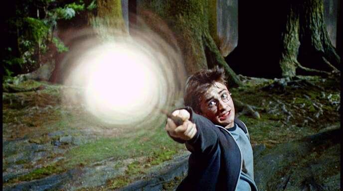 """Harry-Potter-Darsteller Daniel Radcliffe in der Kinoverfilmung von 2004 """"Harry Potter und der Gefangene von Askaban"""" ."""