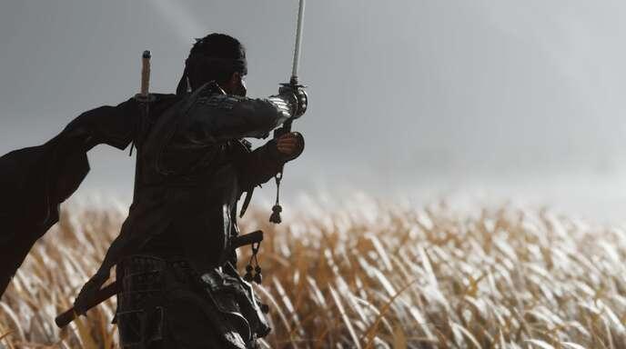 """In """"Ghost of Tsushima"""" kämpft der Spieler als Samurai gegen die mongolische Invasion Japans."""