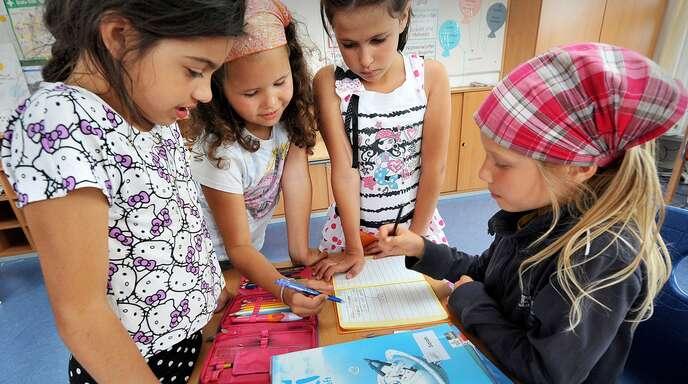 An den Grundschulen stehen die Betreuungsangebote noch in den Sternen.