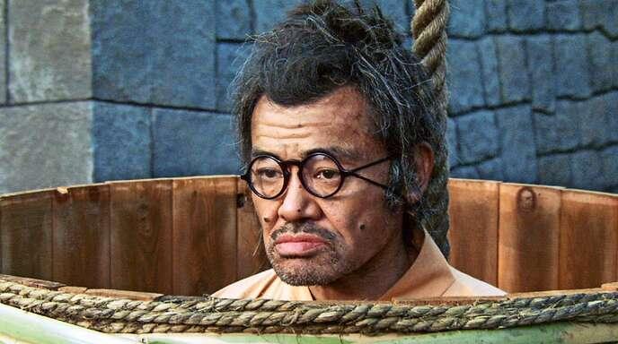 """Der glücklose Kanjuro (Takaaki Nomi) steckt in """"Samurai ohne Schwert"""" ganz schön in der Patsche."""