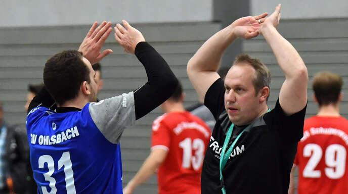 Max Echle (l.) steht Mathias Eisele wieder voll zur Verfügung.