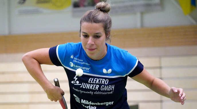 Theresa Lehmann aus Oberharmersbach geht bereits in ihre zehnte Saison für die DJK Offenburg.