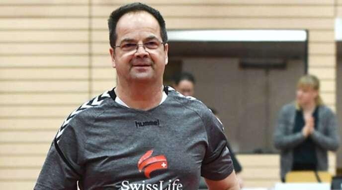 Trainer Manfred Kurz ist mit dem Fitnesszustand seiner Spielerinnen zufrieden.