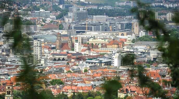 Wo in den Städten – wie hier in Stuttgart – Leerstand herrscht, ist für die Kommunen oft schwer zu ermitteln.