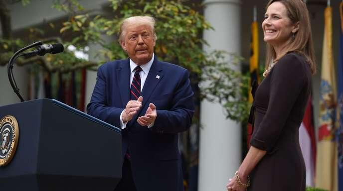 Donald Trump nominiert konservative Richterin für Supreme Court