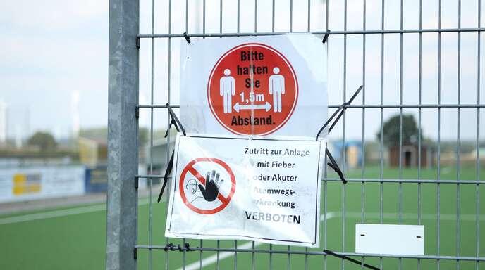 Die Spieler der SG Ripdorf/Molzen II hielten Sicherheitsabstand zu ihren Gegnern. (Symbolbild)
