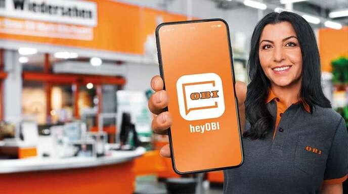 Die App heyObi bietet viele Vorteile für die Kunden.