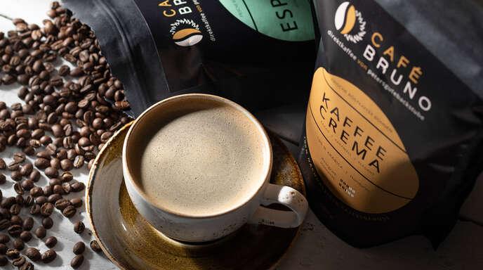 """Zum Kennenlernen der neuen Kaffeespezialität """"Café Bruno"""" gibt es ein großes Gewinnspiel."""