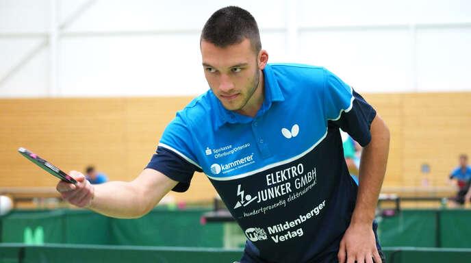 Neuzugang Axel Lehmann konnte bisher mit guten Leistungen überzeugen.