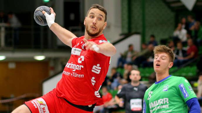Yannick Ludwig war am Freitagabend mit sieben Treffern der erfolgreichste Werfer des TV Willstätt.