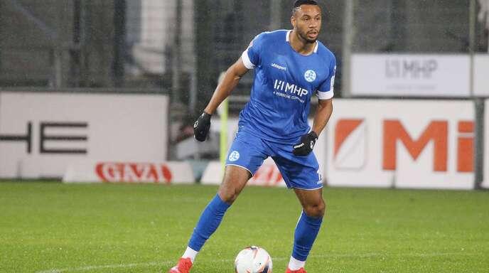 Torschütze zum 2:1 gegen Ravensburg: Ruben Reisig von den Kickers im Pokal-Einsatz.