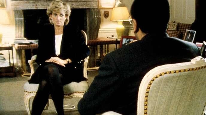 1995 gab Prinzessin Diana dem Fernsehjournalisten Martin Bashir ein skandalös offenes Interview.