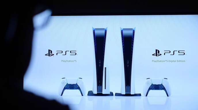 Die neue Playstation bei der Vorstellung im Juni.