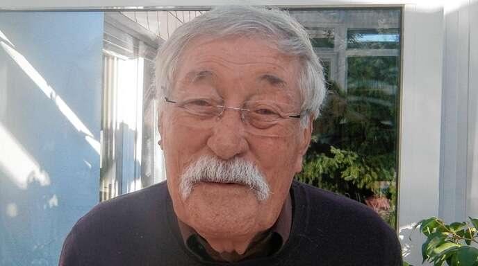 Volker Juhrmann, hier zum 75. Geburtstag fotografiert, fehlen zurzeit das Reisen und die Familie.